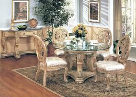 traditional round glass dining table lisaasmith com