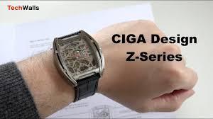 <b>CIGA Design</b> Z-Series <b>Mechanical</b> Titanium <b>Watch</b> - First Look ...