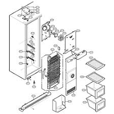 lg refrigerator parts diagram. freezer compa. lg refrigerator parts diagram