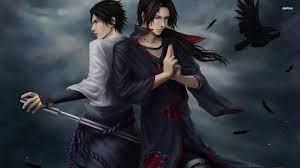 Itachi and Sasuke Uchiha - Naruto ...