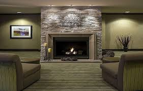 The elegance and Modern Fireplace Design Ideas : Contemporary Stone  Fireplace Design Ideas