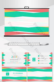 Powerpoint Background Book Colorful Fashion Business Financing Plan Project Planning