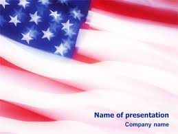 america ppt template flag of the united states of america powerpoint template