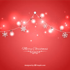 red christmas lights background. Fine Red Red Christmas Lights Background Free Vector Inside Red Christmas Lights Background C