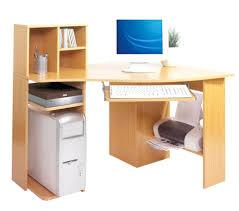 computer desks small wood computer desk corner space room simple office table design plans designs