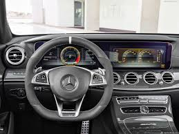 The interior is also thoroughly enhanced: Mercedes Benz E63 S Amg Estate 2018 Pictures Information Specs