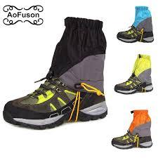 ski gaiters outdoor ultralight legging gaiters shoe cover for skiing snowboard cycling waterproof windproof snow hiking trekking