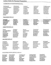 linking verbs list - Google Search Projects to Try Pinterest - good resume  verbs