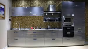 Cuisine Design Laque Grise Swd 2 Cuisine Design Deluxe Votre Espace