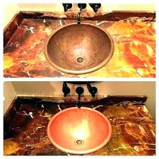 how to re a copper sink copper sink care charming copper sinks bathroom cleaning copper sinks