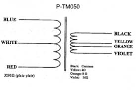 output transformer wire colors wiring diagram 3 phase transformer working at Transformer Connection Diagrams