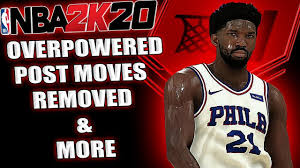NBA 2K20 NEWS - POST SCORERS BALANCED ...