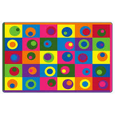 silly circles rugs