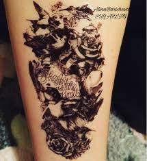 10 штпартия водонепроницаемые временные татуировки ловец снов флеш тату из хны