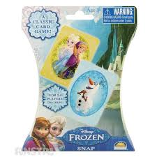 frozen snap card game funstra