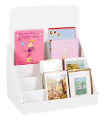 Greetings Card Display Stands Amazon Cardboard Greeting Card Displays Stand For A100 and A100 88