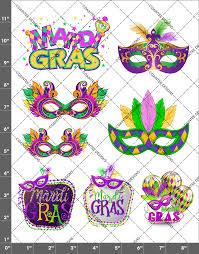 Mardi Gras Designs Mardi Gras Waterslide Sheet