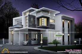 view modern house lights. Inspiring Side Elevation View Grand Contemporary Home Design Night Modern House Designs Lights X