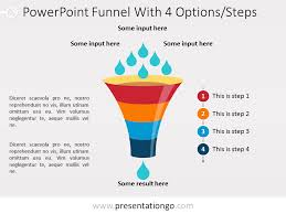 Step Chart In Powerpoint Free Flow Chart Templates For Powerpoint Presentationgo Com