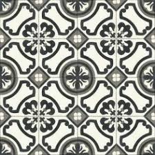 Black And White Pattern Tile Delectable Merola Tile Arte White 48884888488 In X 48884888488 In Porcelain Floor And