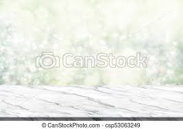 white marble table top. Empty White Marble Table Top With Abstract Green Blur Christmas Tree Background Bokeh Light,holiday Backdrop,mock Up Banner For Display Or Montage Of I