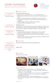 online marketing associate resume samples online marketing resume sample