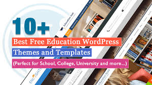 College Templates 10 Best Education School College Wordpress Themes And