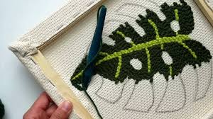 Punch Needle Embroidery Patterns Free Magnificent Design Ideas