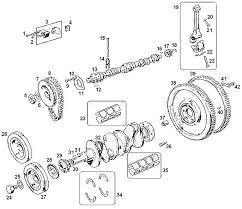 mgb engine 18g ga camshaft crankshaft