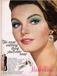 a maybelline cosmetics adver from 1967 for 22the