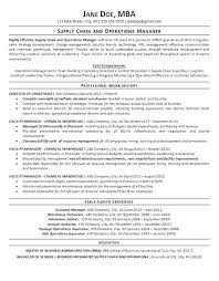 Supply Chain Management Resume Adorable Supply Chain Management Resume Sample Sample Professional Resume