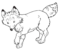 Small Picture fox coloring pages vonsurroquen