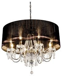 large shaded chandelier by made with love designs ltd within shade decor 2