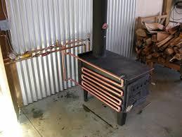 airculator fireplace heat exchanger cascade coil