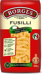<b>Макароны Borges</b> Fusilli, 500 г — купить в интернет-магазине ...