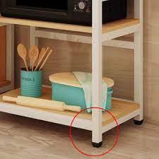 Tủ nhà bếp đa năng XL2020 để lò vi sóng, dụng cụ nhà bếp phong cách tân cổ  điển sang trọng, tiện nghi cho không gian bếp - Kệ nhà bếp Nhãn