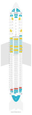 Seat Map Boeing 767 300er 76l Two Class United Airlines