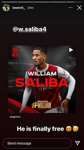 Bro the guy is right next to him in that vid like why??? a man wrote. Afcstuff On Twitter Wesley Fofana Leicester City Defender On Instagram Story After His Best Friend Ex Saint Etienne Team Mate William Saliba Was Loaned To Ligue 1 Side Nice Tonight He Is Finally