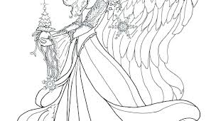 Fairy Colouring Pages For Adults Manga Fairy Coloring Pages Coloring