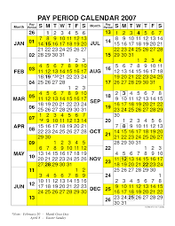 Federal Pay Period Chart Fy16 Federal Pay Period Calendar Calendar Template 2019