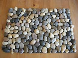 view in gallery pebble bath mat