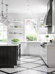 White kitchen dark tile floors Vinyl Ask Maria Can Combine Faux Hardwood Tile With My Oak Floors Maria Photos Hgtv Ask Maria Can Combine Faux Hardwood Tile With My Oak Floors