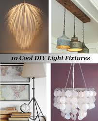cool lighting fixtures. DIY Lighting Fixtures Cool P