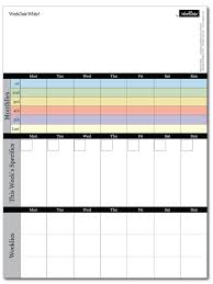 daily time calendar whiteboard undate monthly weekly and daily all in one
