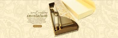 scroll wedding invitations throughout scroll wedding invitations