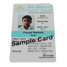 Id Jain 10 Card Pvc piece Id Rectangular Rs 13593817448 Solutions Digital Vertical