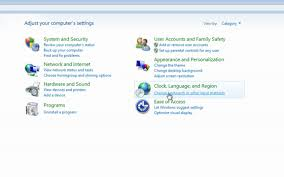 how to change your default keyboard settings in windows 7 and vista