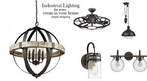 industrial lighting for home. Industrial Lighting Ideas For Every Room In Your Home - Featured Image Industrial Lighting Home S
