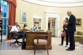 oval office july 2015. Obama Oval Office. File:president On The Phone In Office With Secretary July 2015 L