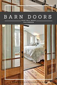 glass barn doors interior. Lots Of Great Ideas In This Post Featuring The Best, Most Unique, Sliding Barn Doors On Internet! | Www.theharperhouse.com Glass Interior